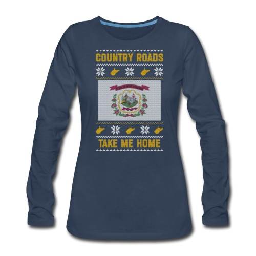 country roads - Women's Premium Long Sleeve T-Shirt