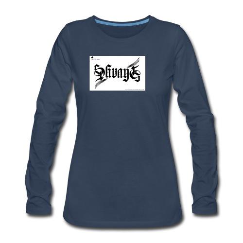 savage - Women's Premium Long Sleeve T-Shirt
