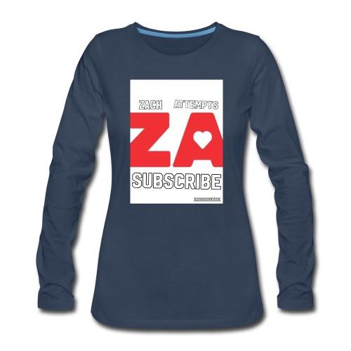 2BE4174E CBA5 4BF1 BC79 FD191616D6D7 - Women's Premium Long Sleeve T-Shirt