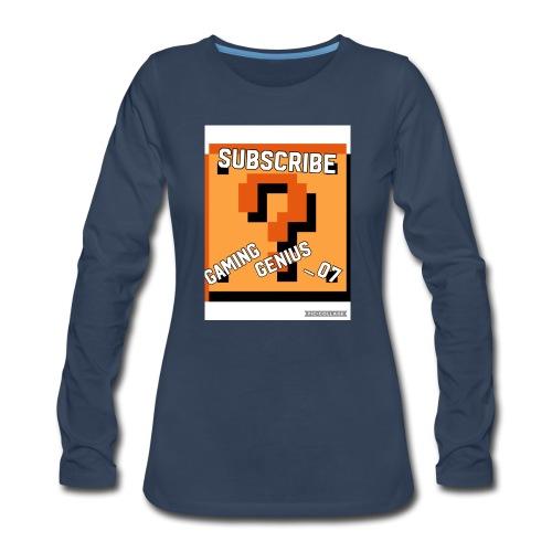 B352BFF4 2E34 449A 996F 7F29B471DB3E - Women's Premium Long Sleeve T-Shirt