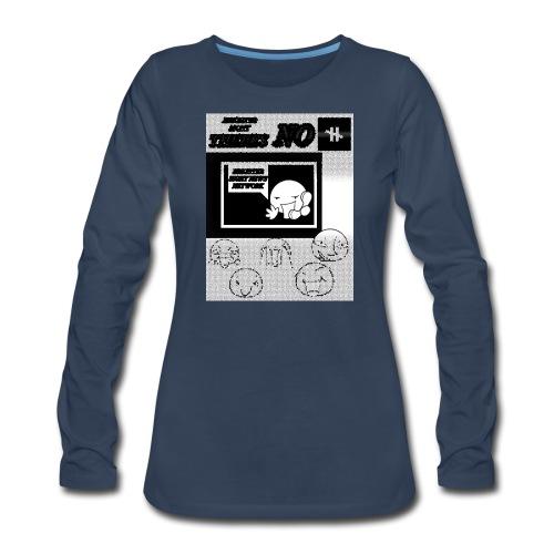 BRIGHTER SIGHT NEWS NETWORK - Women's Premium Long Sleeve T-Shirt