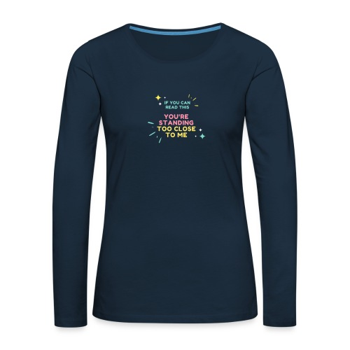 Fight Corona - Women's Premium Slim Fit Long Sleeve T-Shirt