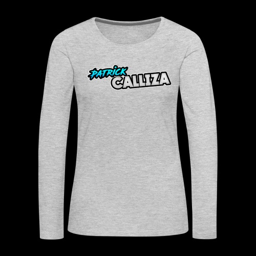 Patrick Calliza Official Logo - Women's Premium Long Sleeve T-Shirt