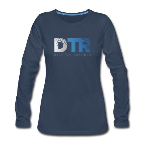 Destiny Tracker v2 Womens - Women's Premium Slim Fit Long Sleeve T-Shirt