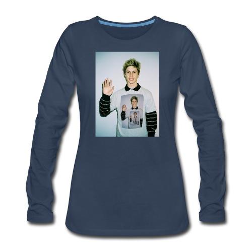 lucas vercetti - Women's Premium Slim Fit Long Sleeve T-Shirt