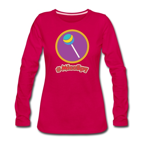 Candy Palace Explorer Badge - Women's Premium Long Sleeve T-Shirt