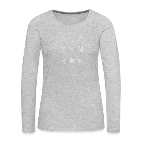 Mom Loves Coffee - Women's Premium Long Sleeve T-Shirt