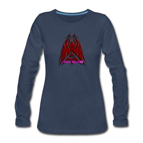 3XILE Games Logo - Women's Premium Long Sleeve T-Shirt