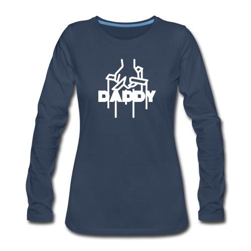 DaddyLogo - Women's Premium Long Sleeve T-Shirt