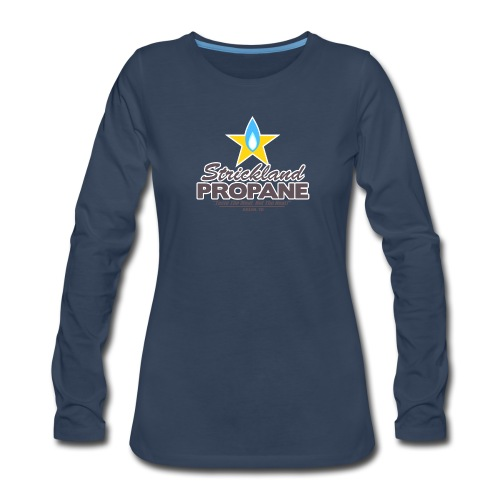 Strickland Propane Mens American Apparel Tee - Women's Premium Slim Fit Long Sleeve T-Shirt