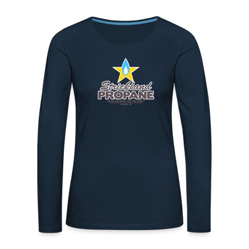 Strickland Propane Mens American Apparel Tee - Women's Premium Slim Fit Long Sleeve T-Shirt