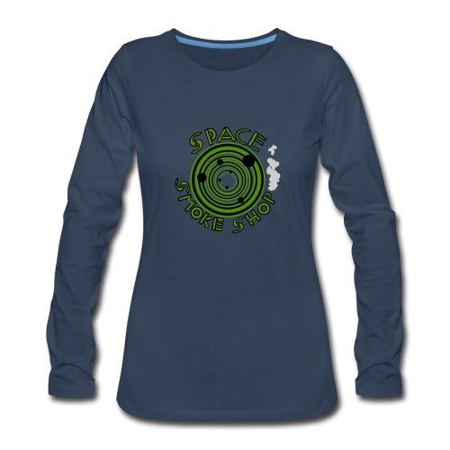 VIdeo Game Logo - Women's Premium Slim Fit Long Sleeve T-Shirt