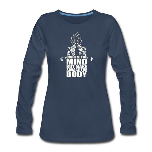 Dbz C Shirt - Women's Premium Long Sleeve T-Shirt