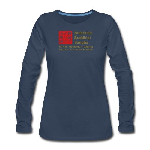 American Buddhist Sangha / Zen Do USA - Women's Premium Long Sleeve T-Shirt