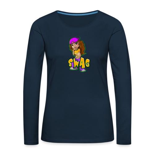 Swag - Women's Premium Slim Fit Long Sleeve T-Shirt