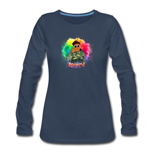 NEW MGTV Clout Shirts - Women's Premium Long Sleeve T-Shirt