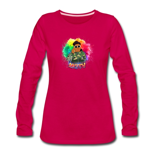 NEW MGTV Clout Shirts - Women's Premium Long Sleeve T-Shirt
