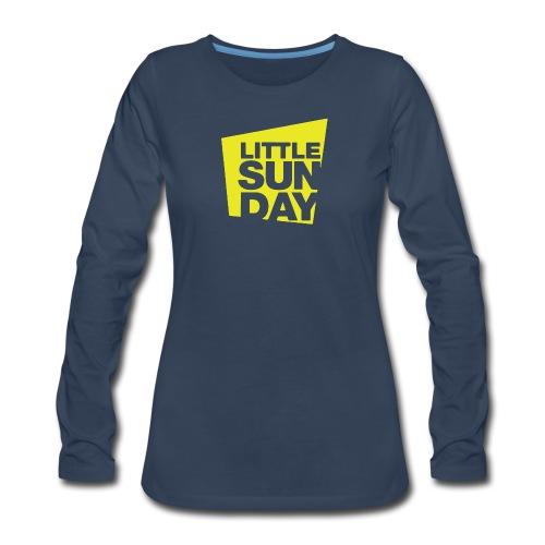 littleSUNDAY Official Logo - Women's Premium Long Sleeve T-Shirt