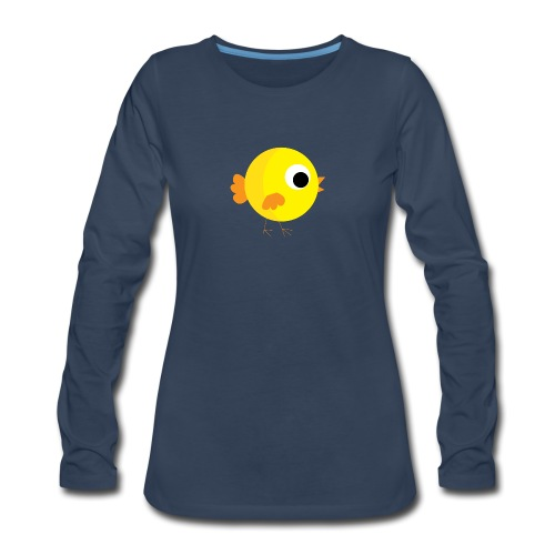 HENNYTHEPENNY1 01 - Women's Premium Slim Fit Long Sleeve T-Shirt