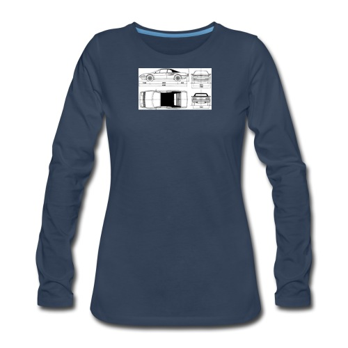 artists rendering - Women's Premium Long Sleeve T-Shirt