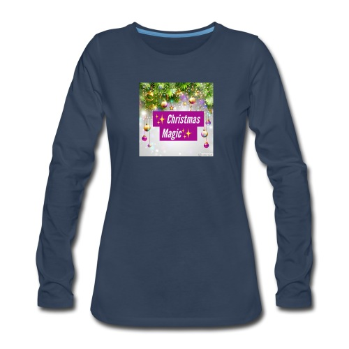 Christmas Magic - Women's Premium Long Sleeve T-Shirt