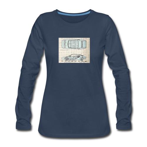 drawings - Women's Premium Long Sleeve T-Shirt