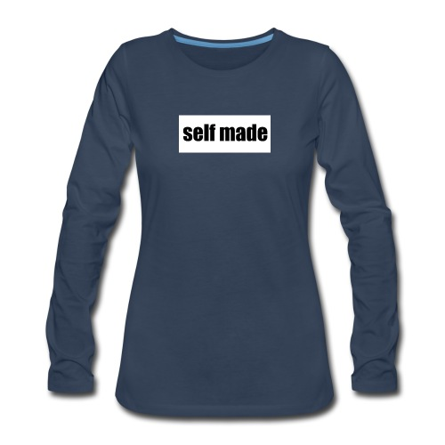 self made tee - Women's Premium Long Sleeve T-Shirt