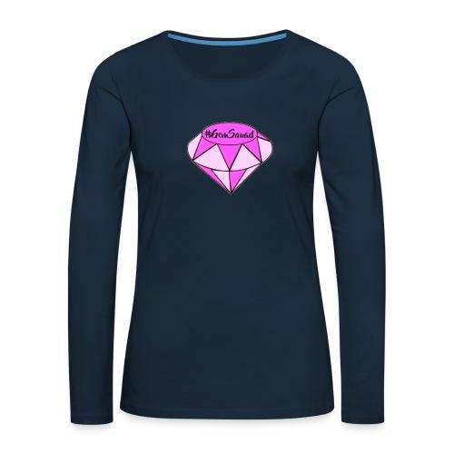 LIT MERCH - Women's Premium Slim Fit Long Sleeve T-Shirt