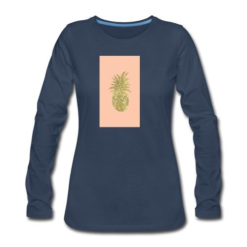 pinaple - Women's Premium Long Sleeve T-Shirt