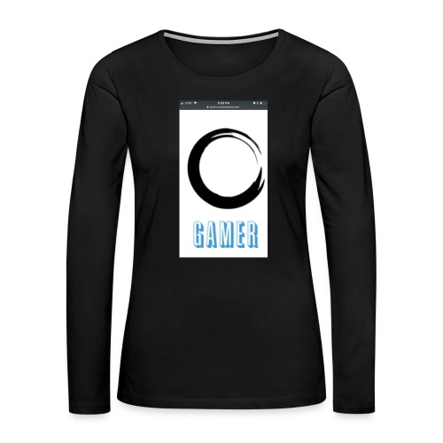 Caedens merch store - Women's Premium Long Sleeve T-Shirt