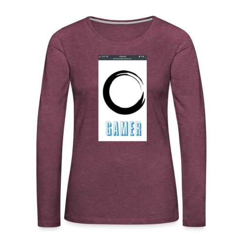 Caedens merch store - Women's Premium Long Sleeve T-Shirt