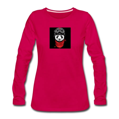 Panda - Women's Premium Long Sleeve T-Shirt