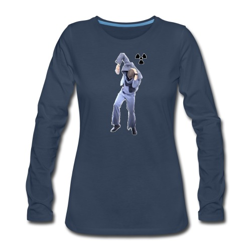 CHERNOBYL CHILD DANCE! - Women's Premium Long Sleeve T-Shirt