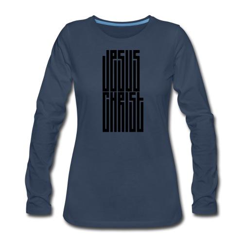 Jesus Christ - Women's Premium Long Sleeve T-Shirt