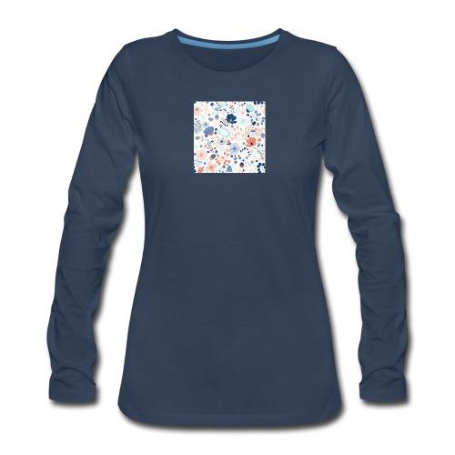 flowers - Women's Premium Long Sleeve T-Shirt