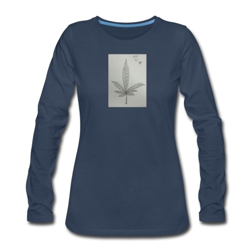 Happy 420 - Women's Premium Long Sleeve T-Shirt