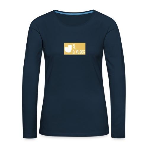 J & O Vlogs - Women's Premium Slim Fit Long Sleeve T-Shirt