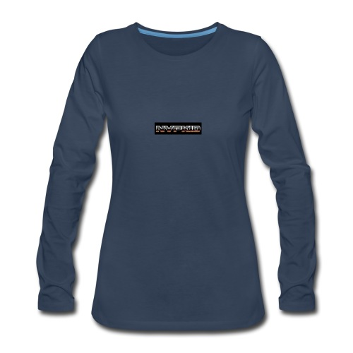 nvpkid shirt - Women's Premium Slim Fit Long Sleeve T-Shirt