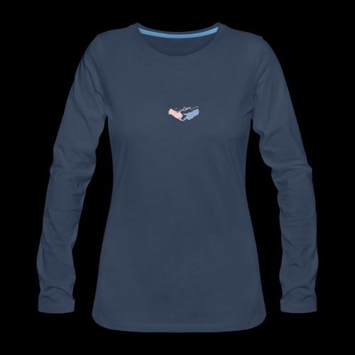 Black T-Shirt - Seventeen - Women's Premium Long Sleeve T-Shirt