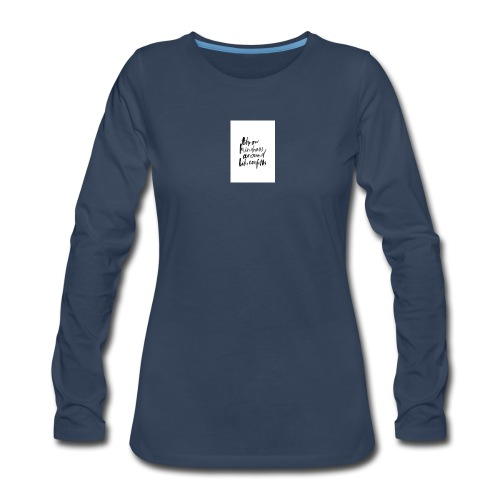Throw kindness around - Women's Premium Long Sleeve T-Shirt