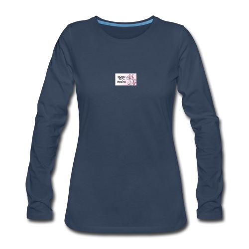 sylvee is a troll - Women's Premium Slim Fit Long Sleeve T-Shirt