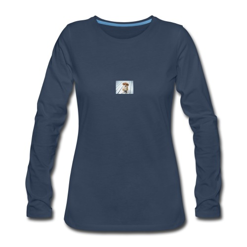 for my you tube channel - Women's Premium Long Sleeve T-Shirt