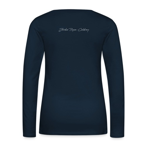 UGLY CRYING - Women's Premium Slim Fit Long Sleeve T-Shirt