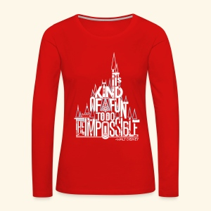 The Impossible - Women's Premium Long Sleeve T-Shirt