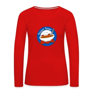 Souper Soups Merchandise - Women's Premium Long Sleeve T-Shirt
