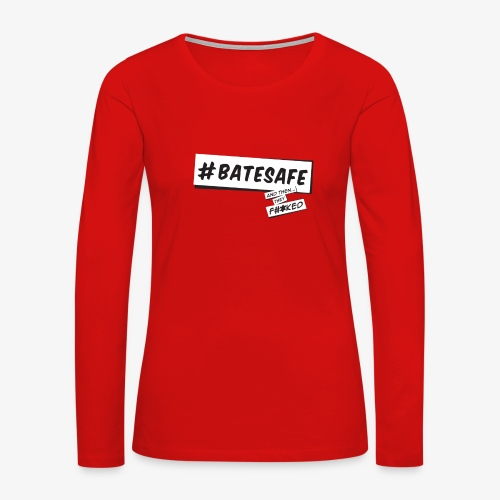 ATTF BATESAFE - Women's Premium Long Sleeve T-Shirt