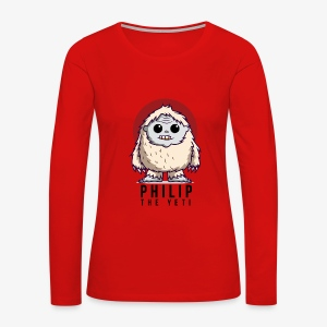 Philip the Yeti - Women's Premium Long Sleeve T-Shirt