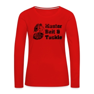 Master Bait & Tackle - Women's Premium Long Sleeve T-Shirt