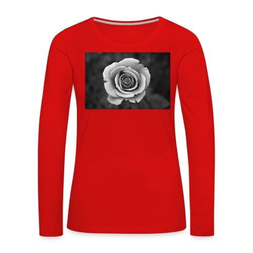 dark rose - Women's Premium Long Sleeve T-Shirt