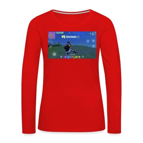 My First Win! - Women's Premium Long Sleeve T-Shirt